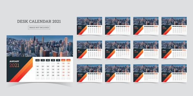 Tischkalender 2021 planer vorlage
