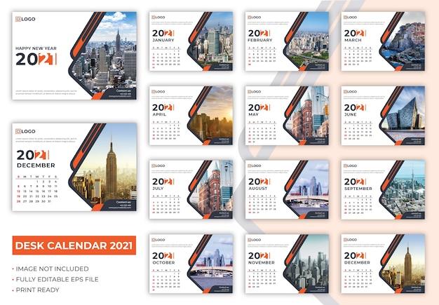 Tischkalender 2021 vorlage