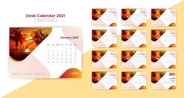 Tischkalender 2021.
