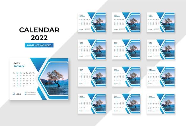 Tischkalender 2022 premium-vorlage