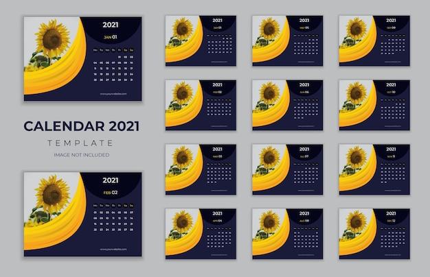 Tischkalender neujahr 2021