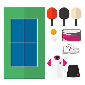 Tischtennis-dinge.
