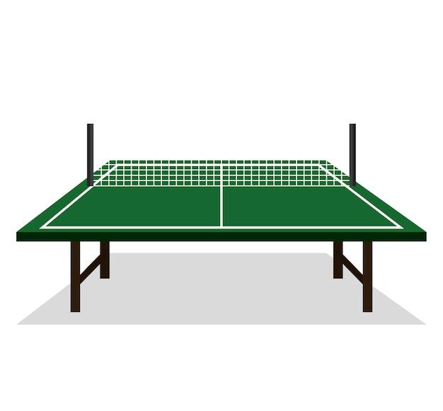 Tischtennis-ikonenvektor-illustrationsdesign