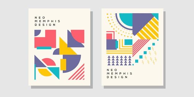 Titelblatt im memphis-stil