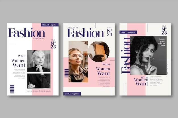 Titelsammlung des magazins