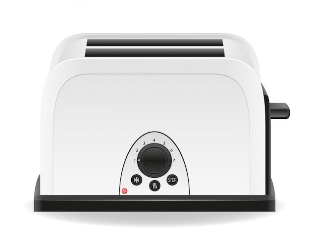 Toaster-vektor-illustration