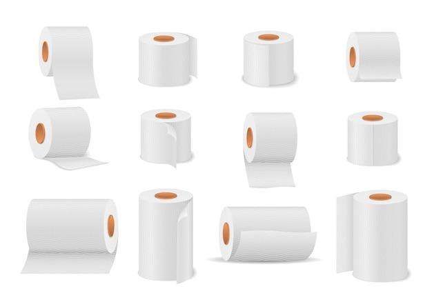 Toilettenpapierrolle für bad und toilette