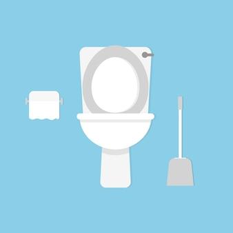 Toilettenschüssel. stil