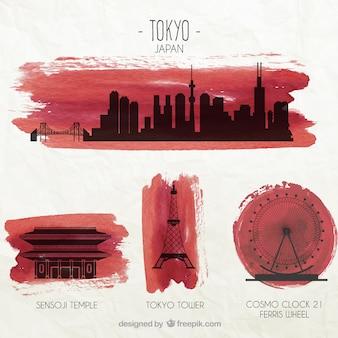 Tokyo denkmäler
