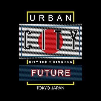Tokyo japan städtische stadt zukunft design