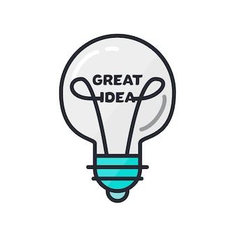 Tolles ideenkonzept
