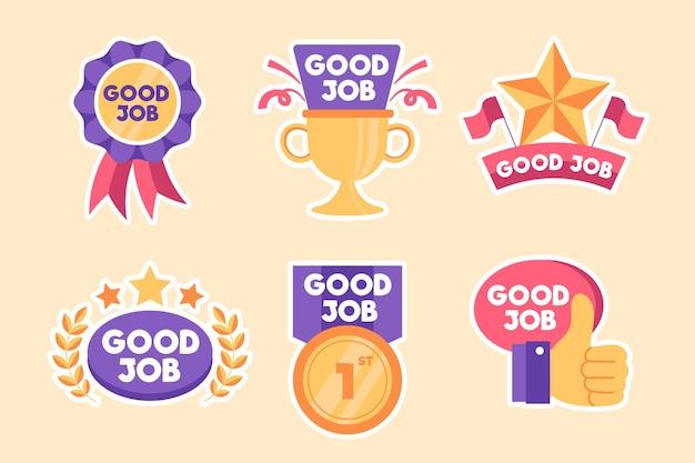 Tolles job-sticker-pack