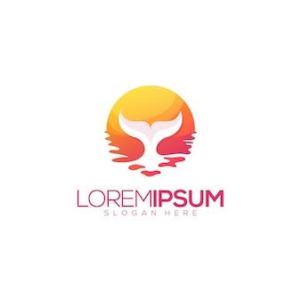 Tolles sunset wal premium-logo