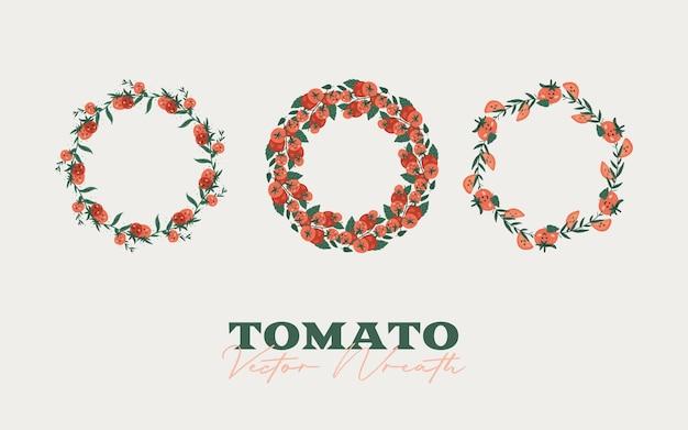 Tomaten nahtloses muster