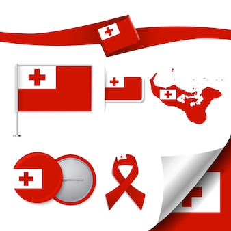 Tonga repräsentative elemente sammlung
