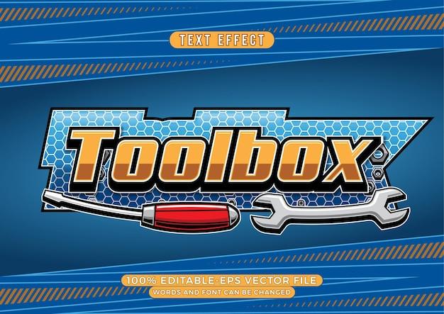 Toolbox-texteffekt