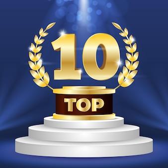 Top 10 der besten podestplätze