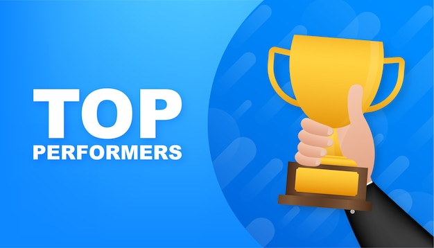 Top performers illustration