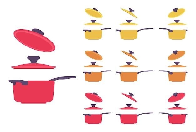 Topfgarnitur, küchengerät