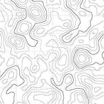Topographischer kartendiagramm-musterhintergrund