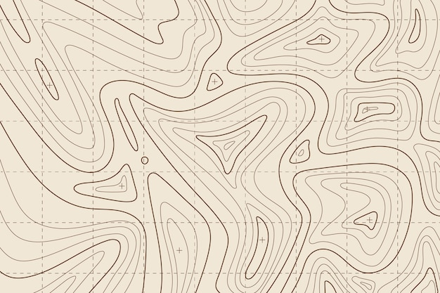 Topographisches kartenhintergrundkonzept