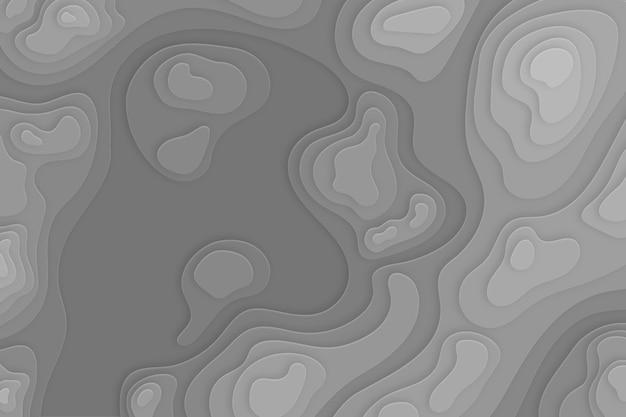 Topographisches kartentapetenkonzept