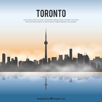 Toronto skyline hintergrund
