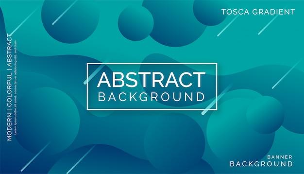 Tosca-zusammenfassungshintergrund, modernes buntes dynamisches design