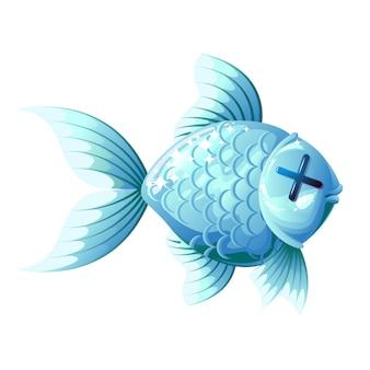 Toter fisch.