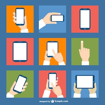 Touch-Screen-Vektor-kostenlos