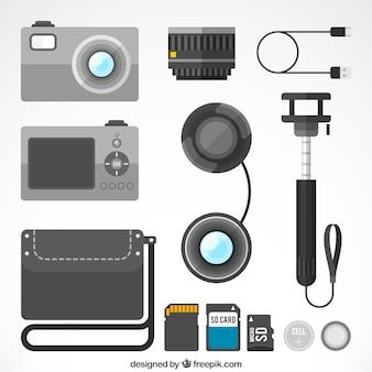 Tourismus-kamera-set