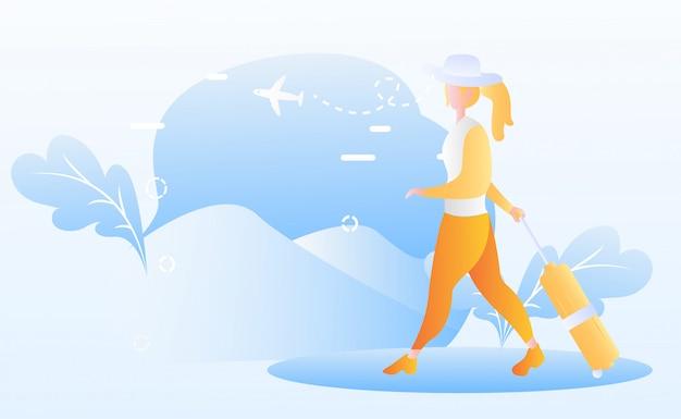 Tourismus tag abbildung