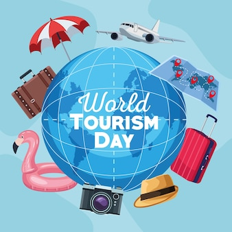 Tourismustag auf dem planeten