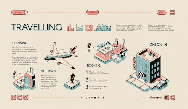 Touristengeschäft, reisedienstleistungen
