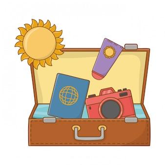 Touristenreise sommerreise