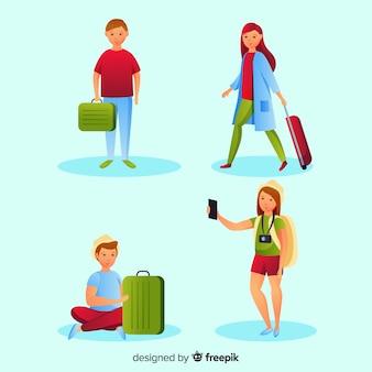 Touristische sammlung