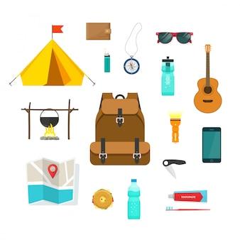 Touristischer rucksack