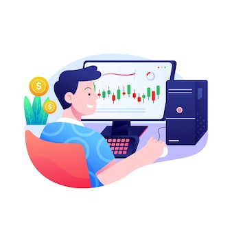Trader arbeitskonzept