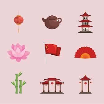 Traditionelle chinesische symbole