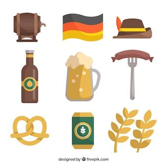 Traditionelle deutsche elemente