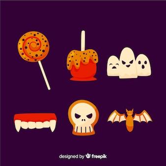 Traditionelle halloween-bonbons für kinder