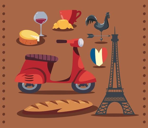 Traditionelle ikonen von frankreich