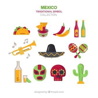 Traditionelle mexikanische elemente