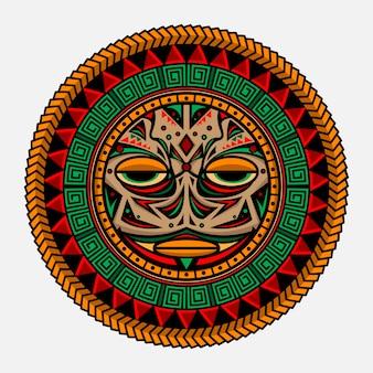 Traditionelle polynesische tätowierung