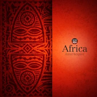 Traditioneller afrikanischer kunsthintergrund
