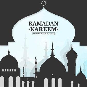 Traditioneller ramadan-karem-hintergrund