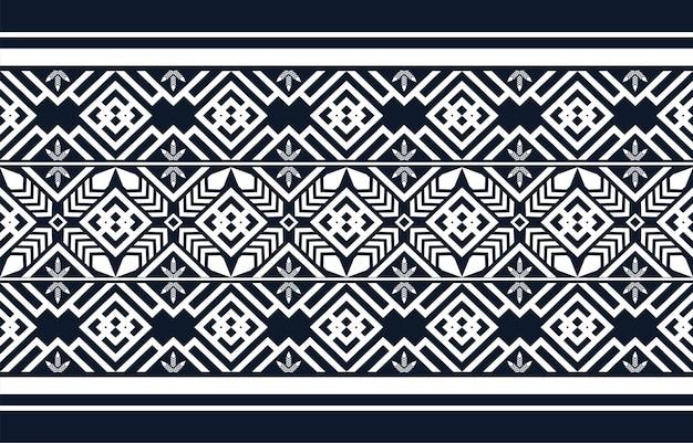 Traditionelles design des geometrischen ethnischen musters