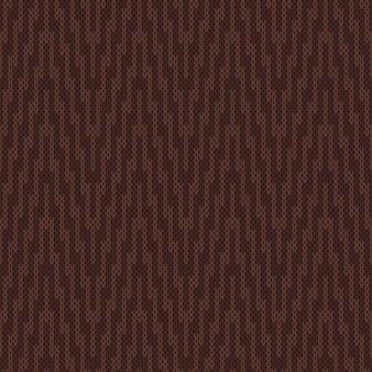 Traditionelles muster der schönen insel. nahtlose strickverzierung