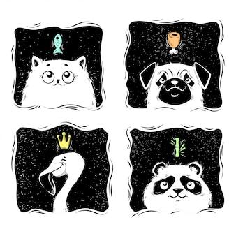 Träume von tieren.