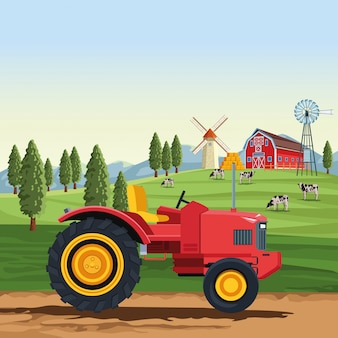 Traktorfahrzeug